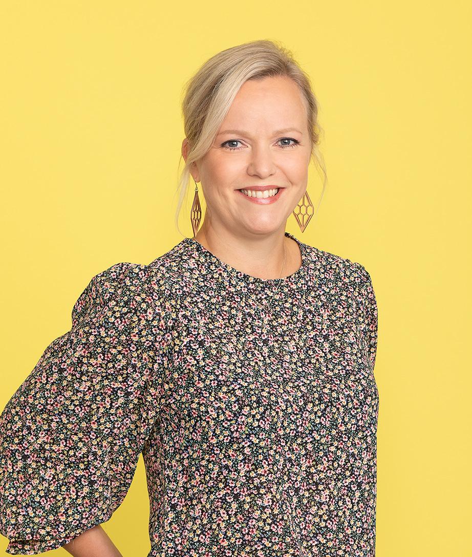 Johanna Rekula, asiakaspalvelupäällikkö